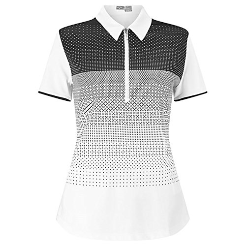 Callaway Ombre Polka Polo Manga Corta de Golf, Mujer: Amazon.es ...