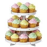 Wilton Cupcake 3-Tier Stand, White