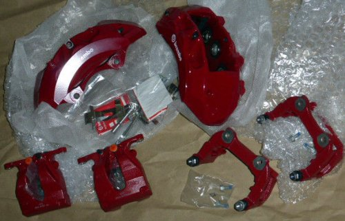EuroActive Range Rover Supercharged L405 2013+ Range Rover Sport Supercharged 2014+ Red Edition Brembo Caliper Brake Set OEM