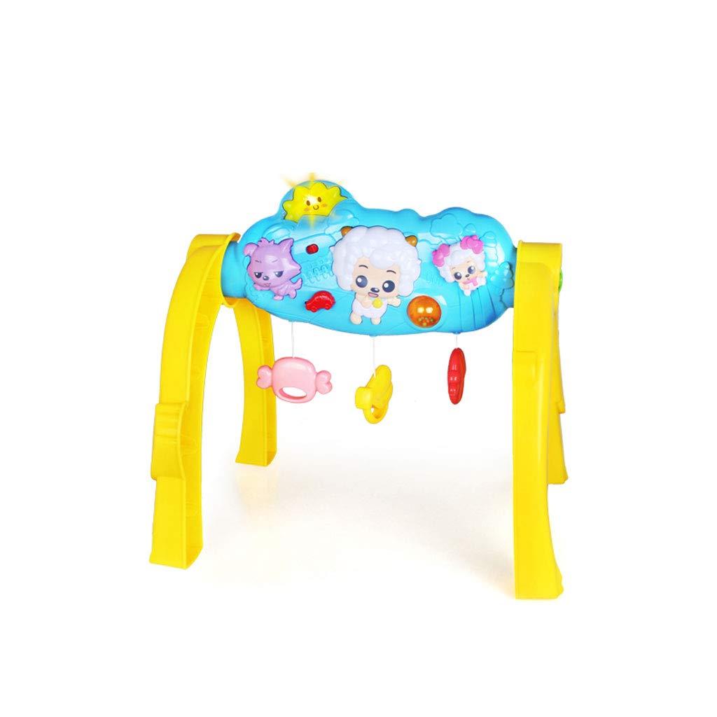 Kinder Musik Fitness Rack Kinder Fitnessgeräte Kinderspielzeug (Größe   52  40  51cm)  434351cm