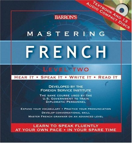 Mastering French Level Two: Audio CD Package (Mastering Series/Level 2 Compact Disc Packages) by Barron's Educational Series