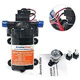 Amarine-made 12v 2.8 GPM 45 PSI Water Pressure Pump, Boat Marine Plumbing