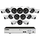 Lorex 16 Channel 1080p HD Security System with, 2TB HDD, 16 1080p Bullet Cameras, and 130 Night Vision
