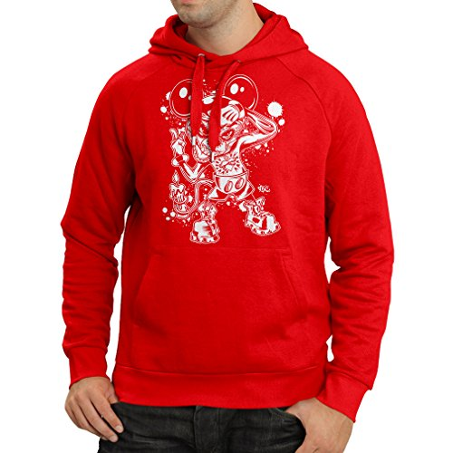 Bud Light Halloween Costumes (Hoodie a mouse with an amazing Halloween costume (XX-Large Red Multi Color))
