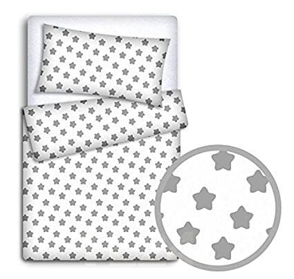 Duvet Cover 2PC to FIT Baby Cot Bed Baby Bedding Set Pillowcase Black cat