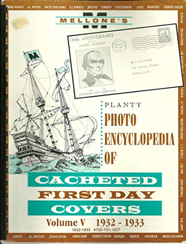 Photo Encyclopedia of Cacheted First Day Covers Volume V 1932-1933