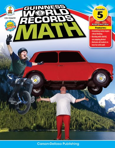 (Guinness World Records Math, Grade 5)