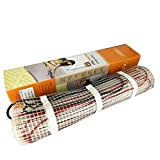 40 sqft SENPHUS 120V Electric Radiant Floor Heating System Under Tile Cable Self-adhesive Mat