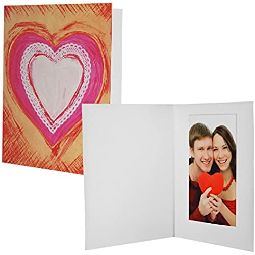 Heart / Valentine's Day Photo Folders - 100 Pack Sales