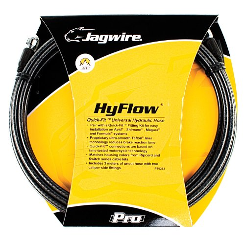 Jagwire HyFlow Disc Hose, Black Carbon, 3000mm, Requires Jagwire HyFlow Quick-Fit Kit -