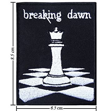 Twilight Patch Embroidered Iron On Or Sew On Badge