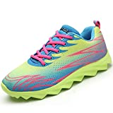 Aleader Women's Running Shoes Fashion Walking Sneakers Green 10 D(M) US