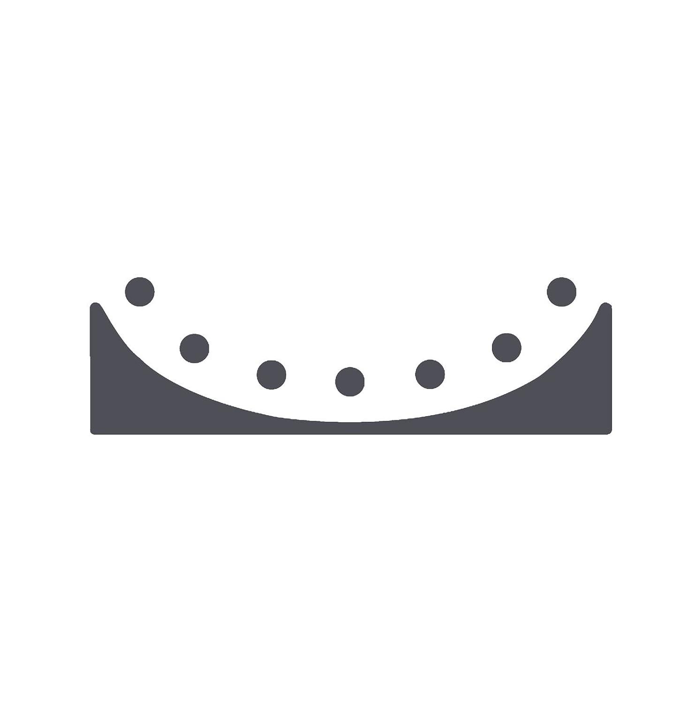 Dise/ño Festoneado Simple Creaci/ón de Tarjetas y M/ás Scrapbooking Vaessen Creative Perforadora de Bordes Para Proyectos DIY