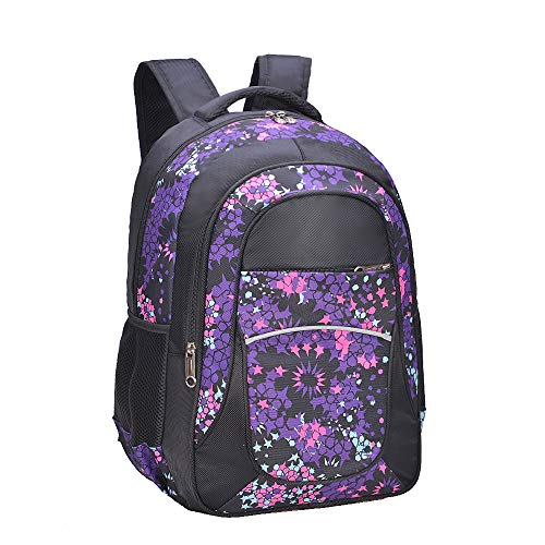 Kids' Backpack for Girls, Teens by Fenrici, Durable 18 Inch Book Bags for Elementary, Middle, Junior High School Students, Support Pediatric Rare Disease Research (HOPE, ()