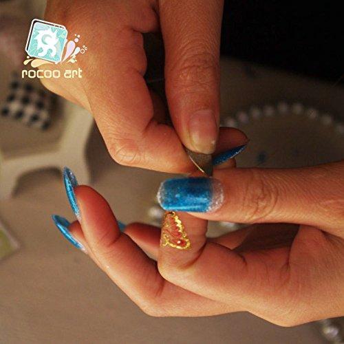 Amazon.com: Nail Art Stickers Full Wrap R0502 Nail Sticker Tattoo - FashionDancing: Beauty