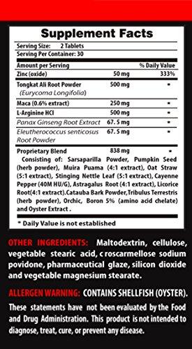 Malaysian Ginseng - EURYCOMA LONGIFOLIA - Stimulates libido (3 Bottles - 180 Capsules) - 51W0bd9JPlL - Malaysian Ginseng – EURYCOMA LONGIFOLIA – Stimulates libido (3 Bottles – 180 Capsules)
