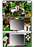 Ben 10 Ten Watch Omnitrix Alien Swarm Cartoon Force Ultimate Omniverse Video Game Vinyl Decal Skin Sticker Cover for Nintendo DSi System