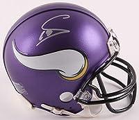 Stefon Diggs Signed Autographed Minnesota Vikings Mini Helmet TSE Sports COA & Hologram