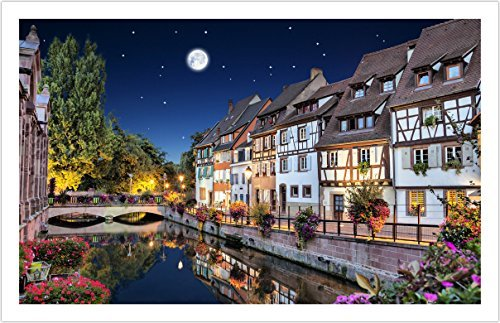 Pintoo - H1784 - Colmar, France - 1000 Piece Plastic Puzzle by Pintoo