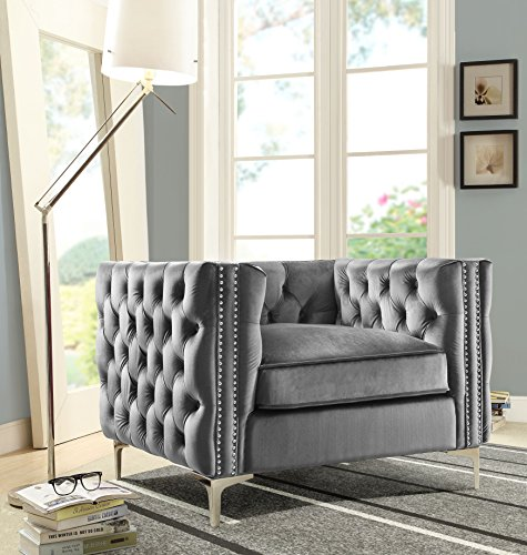 Iconic-Home-Chic-Home-Da-Vinci-Velvet-Modern-Contemporary-Button-Tufted-with-Silver-Nailhead-Trim-Silvertone-Metal-Y-Leg-Club-Chair