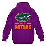 Florida Gators Men's 50% Cotton Sweatshirt Hoodie Purple
