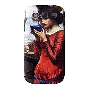Destiny by John William Waterhouse Full Wrap High Quality 3D Printed Case, Snap-On Cover for Samsung Galaxy S3 by Painting Masterpieces
