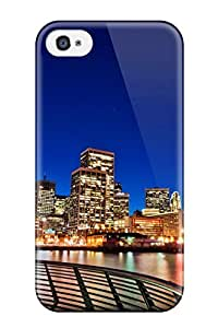 Hard Plastic Iphone 4/4s Case Back Cover,hot San Francisco Sunset Case At Perfect Diy