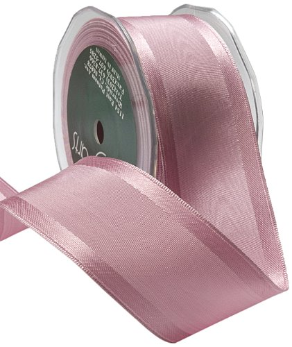 May Arts 1-1/2-Inch Wide Ribbon, Mauve Moire