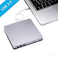 Smallcar External USB 3.0 DVD Drive Burner Portable CD Player CD ROM DVD RW Optical Drive for Mac Air Pro Macbook Windows 10 Laptops Desktops