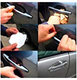 QAWACHH® Universal Invisible Car Door Handle Scratches Protector (1 Pack 4 Piece)