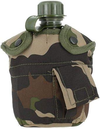 Mil-Tec US Feldflasche 2QT mit Hülle und Gurt Trinklfasche Canteen Wasserflasche
