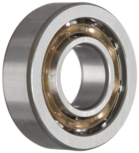 (SKF 7203 BEP Light Series Angular Contact Ball Bearing, ABEC 1 Precision, 40° Contact Angle, Maximum Capacity, Open, Polyamide/Nylon Cage, Normal Clearance, 17mm Bore, 40mm OD, 12mm Width, 1370.0 pounds Static Load Capacity, 2500.00 pounds Dynamic Load Capacity)