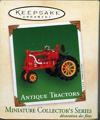1 X 2002 Hallmark Ornament Miniature Antique Tractors # 6 Series
