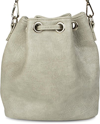 única gris Claro talla Bolso Gris mujer styleBREAKER 2012248 para hombro claro Gris al nRSqxvUfw