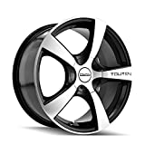 Touren TR9 3190 Black Wheel with Machined Face (16x7'/10x100mm)