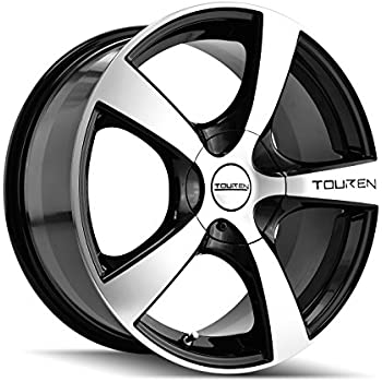Touren TR9 3190 Black Wheel with Machined Face (16x7
