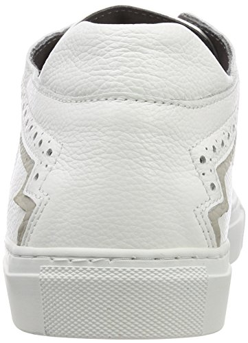 Pollini Mænd M.sneakers Sneaker Flerfarvede (bianco + Perla 10a) DfuauJxjW3
