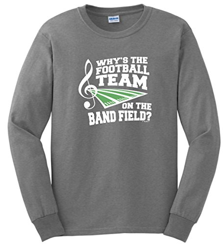 Marching Band Gifts for Women Why's The Football Team on Ban