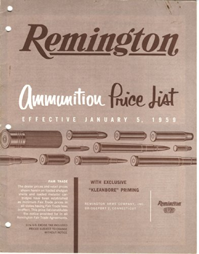 Remington Arms Ammunition (Remington Ammunition Price List)
