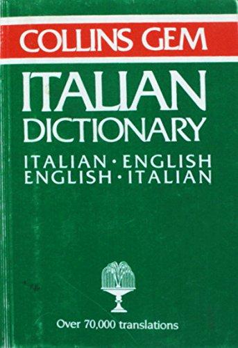 Collins Gem Italian English English Ital