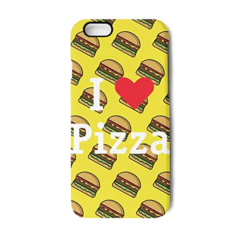 BoDu iPhone 7 case iPhone 8 Case I Love Pizza TPU Protective Shockproof Back Cover for iPhone 7 iPhone 8]()