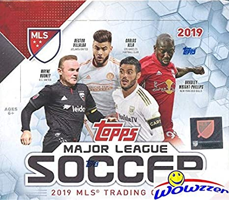 865eb3ed909 2019 Topps MLS Major League Soccer MASSIVE 24 Pack Factory Sealed Retail  Box with 144 Cards