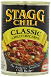 STAGG Chili Classic Chili Con Carne 400 g (Pack of 6)