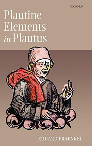 Plautine Elements in Plautus