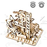 ROKR 3D Wooden Puzzle-Mechanical Model-Wooden Craft Kit-DIY Assembly Toy-Mechanical Gears Set-Brain Teaser Games-Best Gifts for Adults & Teens Age 14+(Tower Coaster)