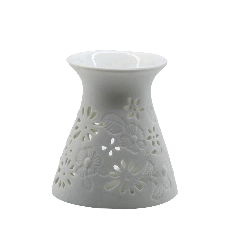 HwaGui Scaldino ad olio Romantic Bruciatore di incenso per candele Lampada per rinfrescare l'aria Incense burner-love