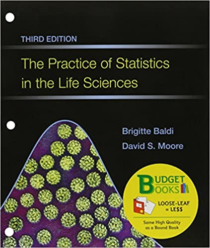 Amazon the practice of statistics in the life sciences loose the practice of statistics in the life sciences loose leaf crunchiteesee access card budget books third edition fandeluxe Gallery