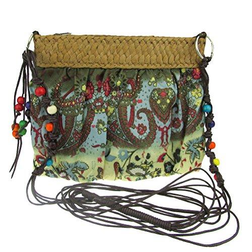 petit Fashion pour fleur femmes chiffon Hipster sac donalworld wqB7In