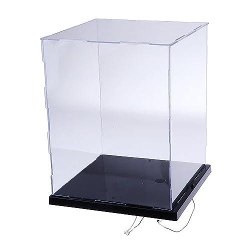 Lanscoee フィギュアケース LED付き ディスプレイケース