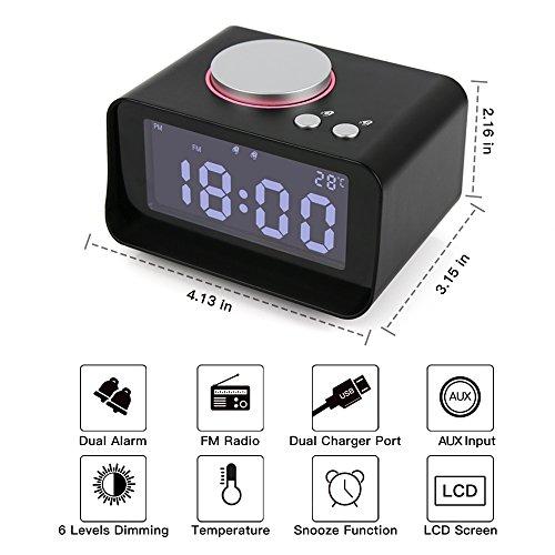 Review Leiqi Dual Alarm Clock
